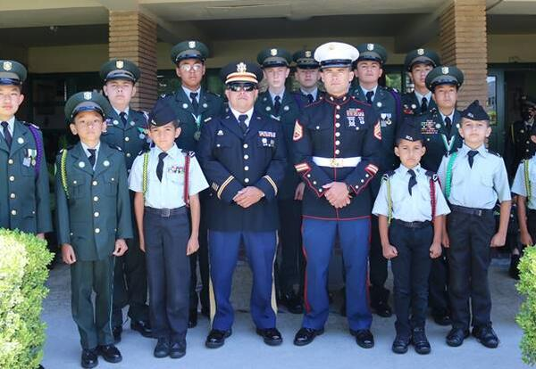 St. Catherine's Academy Named Best Military Tradition School: For second year, SCA is recognized for its rich military tradition