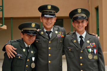 three cadets
