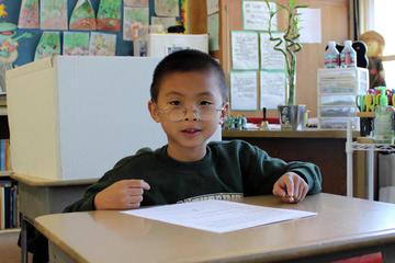 SCA Elementary School Student