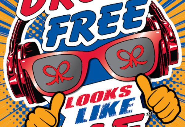"""Celebrating being drug-free! Essay/Poem and Poster Contest The theme this year is  """"Drug Free Looks Like Me"""""""