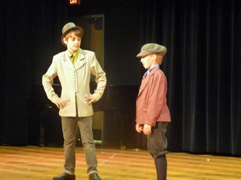 ME 6th Grade Students Performs Oliver-9