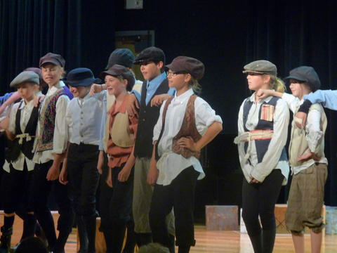 ME 6th Grade Students Performs Oliver-10