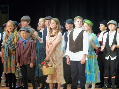 ME 6th Grade Students Performs Oliver-14
