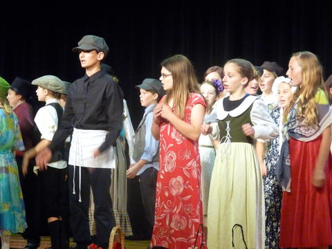 ME 6th Grade Students Performs Oliver-15