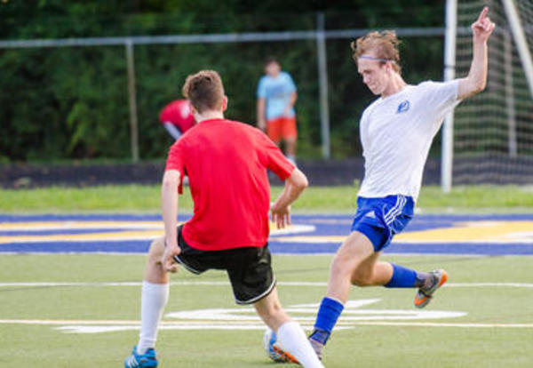 The Mariemont High School Alumni Soccer Match