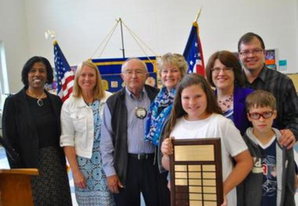 Elementary Students Recognized for Outstanding Community Service