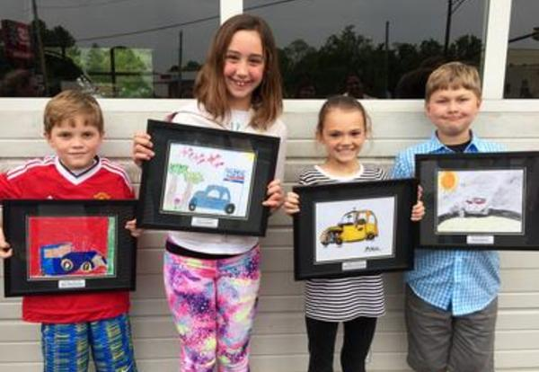 Elementary Students Win Art Awards From Local Business