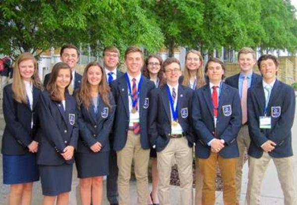 MHS Students Score Big at International DECA Competition