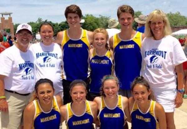 Student Athletes Place in the Division II State Track & Field Championships
