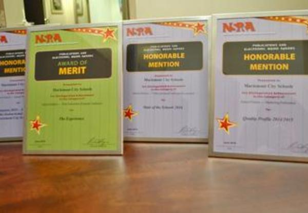 District Receives National Communications Awards