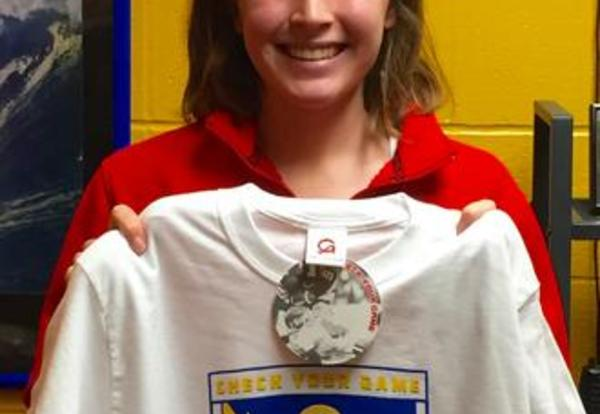 Emma Worple is the Check Your Game Athlete of the Week