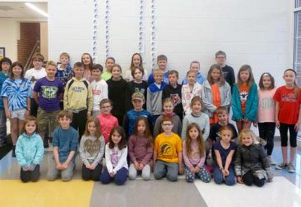 Elementary Students Recognized for Getting Along with Others