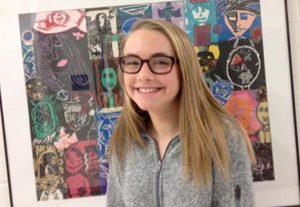 Junior High Student Wins Art Critic Award