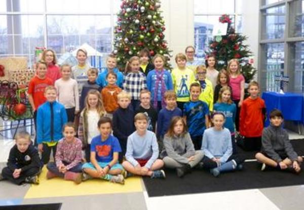 Elementary Students Recognized for Being Good Communicators