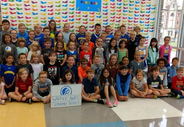 Mariemont Elementary Students Recognized for Showing Respect