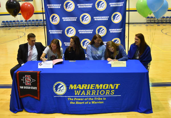 Two Mariemont Seniors Sign National Letters of Intent