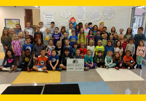 Mariemont Elementary Students Recognized for Showing Self-Control