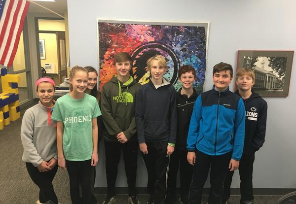 Nine Mariemont Junior High School Students Win Scholastic Art Awards