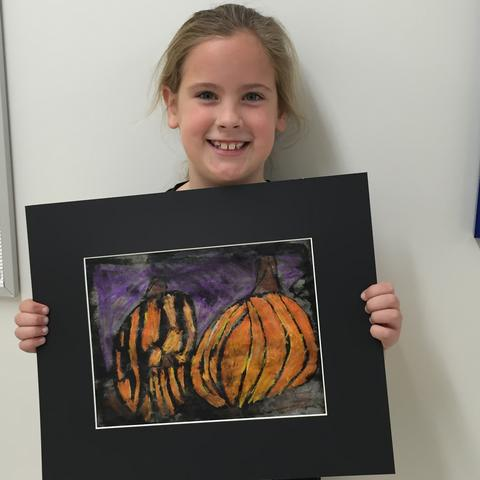 Elementary Art Winners - McDulin
