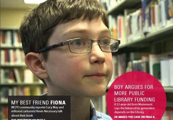 MJHS Student Featured in LibraryLinks
