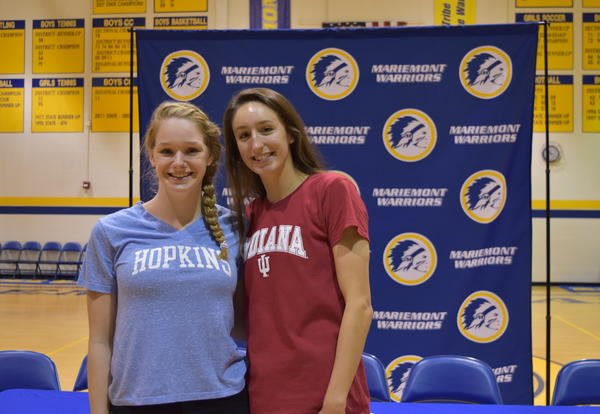 Two Mariemont High School Student Athletes Sign Athletics Letters of Intent