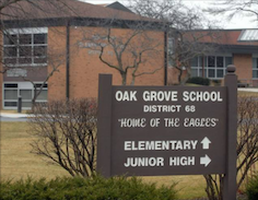 Oak Grove School Outside Sign small