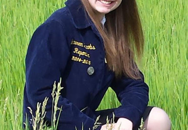 Lauren Jacobs: District 3 FFA President