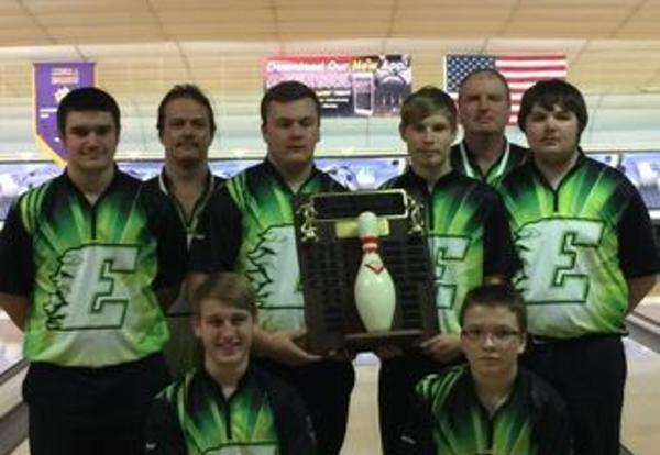 EHS Boys Bowling Team Wins Season Conference Title!