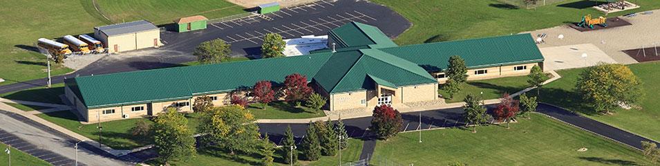 Riverdale Elementary School Aerial View