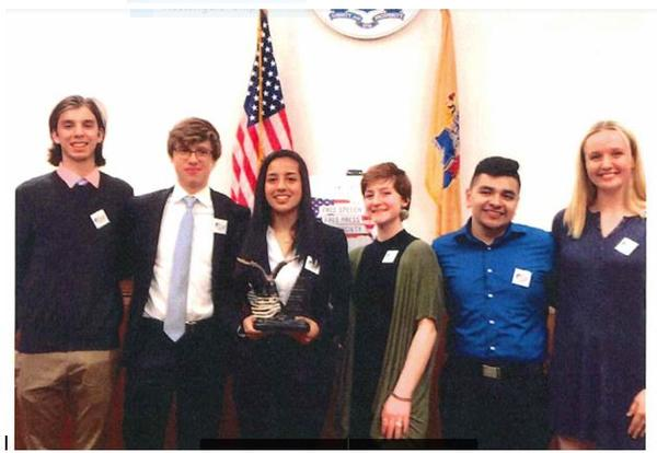 Newton Mock Trial Team was honored as part of Law Day Festivities.