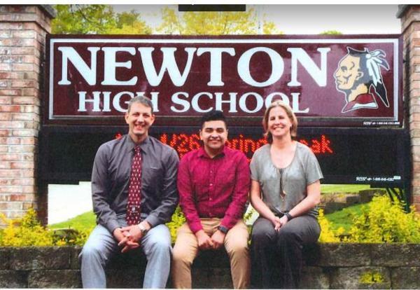 New Jersey Scholar, Danny Flores-Zelaya