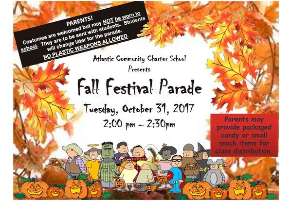 Fall Festival Parade
