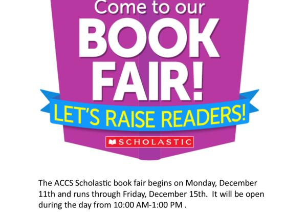ACCS Scholastic Book Fair