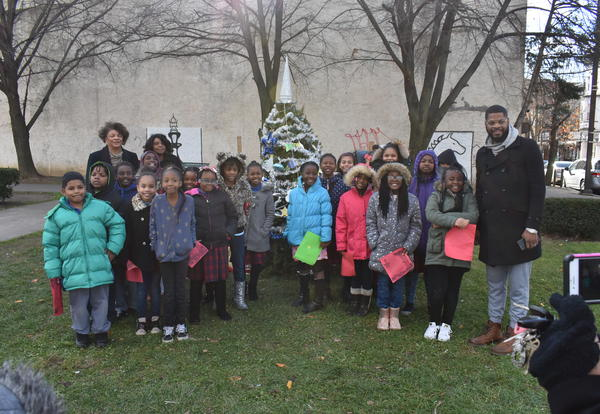 Students from East B & East C Attend the City of Chester's Annual Tree Trim