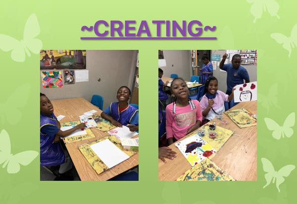 West C's First Art Club Off to Great Start!