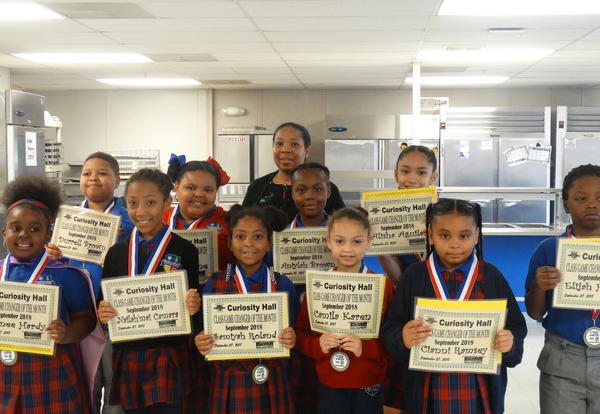 September Scholars of the Month Ceremony