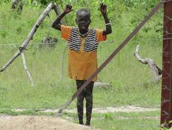 South Sudanese child picture