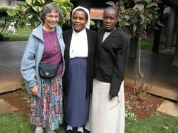 Sister Gerry with two other sisters