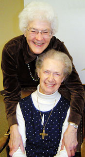 Sister Imelda and Ruth