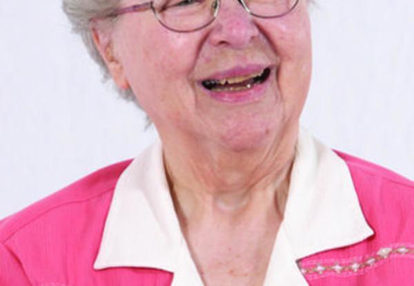 Sister Marjorie Suttmiller, SNDdeN (formerly Ruth Ann)