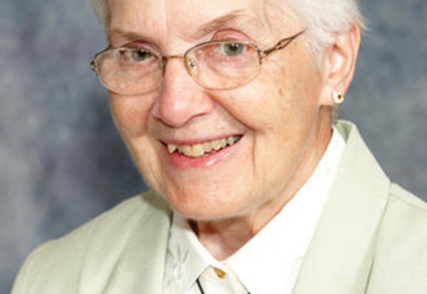 Sister Nancy Gnau SNDdeN (formerly Ann Christopher)