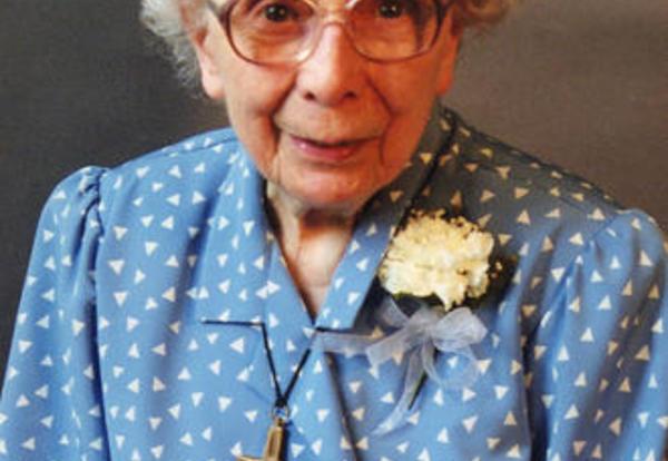 Sister Mary Dorothy LeDiard, SNDdeN (formerly Florence Cecilia)