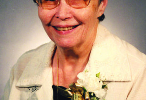 Sister Patricia McNamee, SNDdeN (formerly Catherine James)