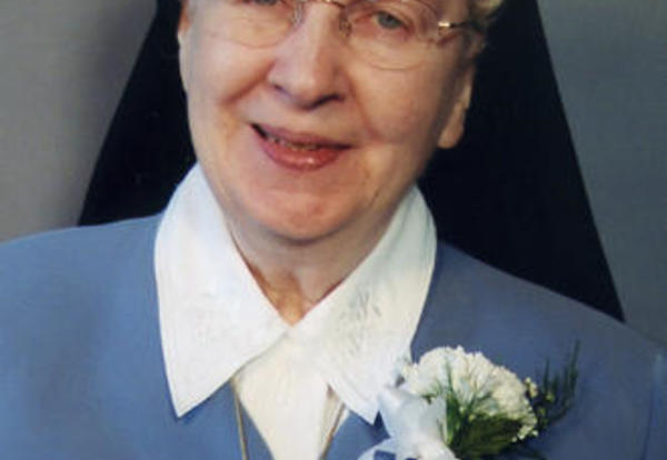 Sister Carolyn AmRhein, SNDdeN (formerly St. Clare)