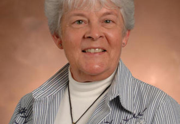 Sister Janice Bohn, SNDdeN (formerly Mary James)