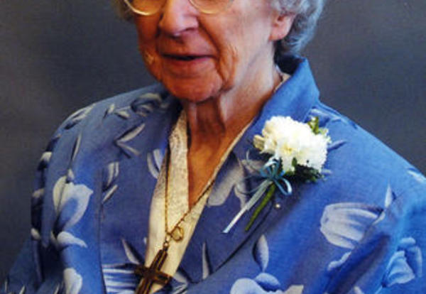 Sister Elizabeth Waters, SNDdeN (formerly Patricia Marie)