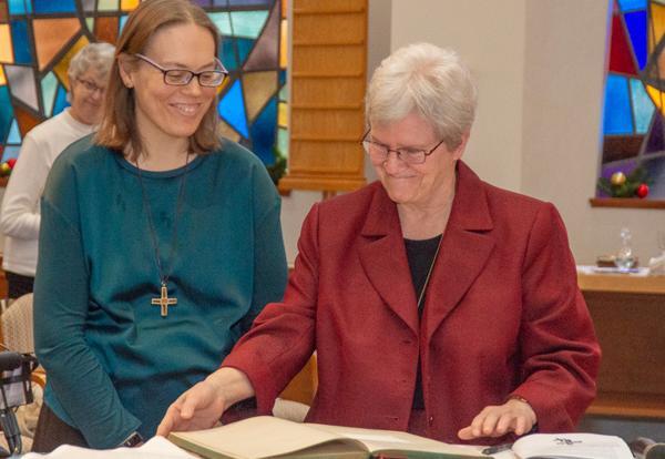 Sister of Notre Dame de Namur Professes Final Vows