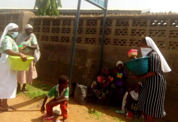 The Effect of COVID-19 in Nigeria: How the Sisters are Giving Back
