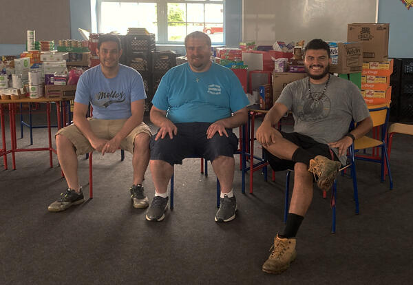 Service in a Pandemic: Justin Rodriguez, Big Laurel Learning Center, Kermit, West Virginia