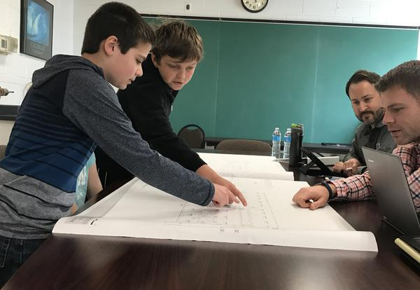 Students Meet with District Architects